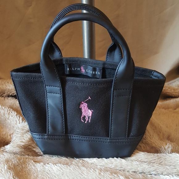 e368445cfc3d Polo Ralph Lauren Mini Mini Pink Horse Tote. M 5a1c793e41b4e0bf310d5856