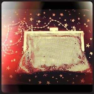 Vintage Chain Mail Evening Bag