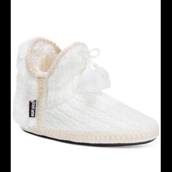 5b8fb26569a Muk Luks Amira Boot Slippers