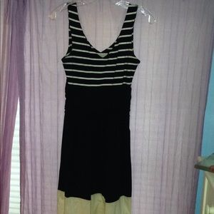 Synergy stripe dress