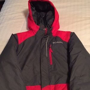 Other - Red Columbia winter coat