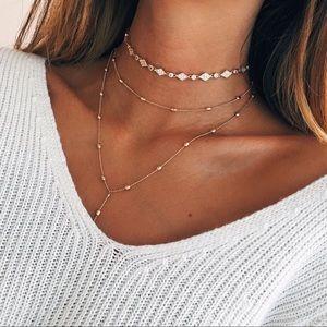 Jewelry - Layered Gold Necklace