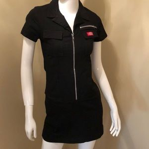 Dickies white nursing dress