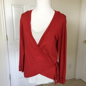 ✅ 🆕Listing Two Star Dog Wrap Sweater Red
