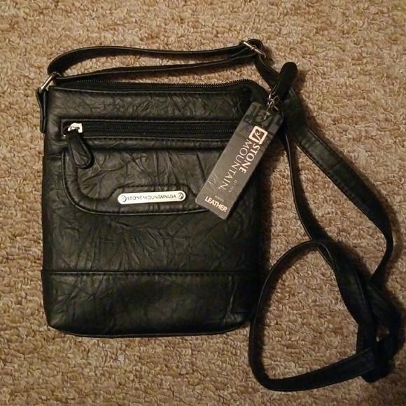 46a6da4b64 Genuine leather Stone Mountain crossbody bag