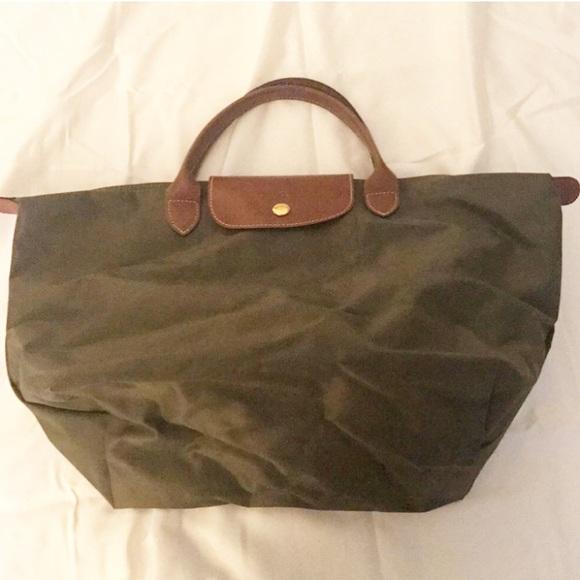 3eea8e8126f Longchamp Handbags -  Authentic  Longchamp Le Pliage Handheld Tote Bag