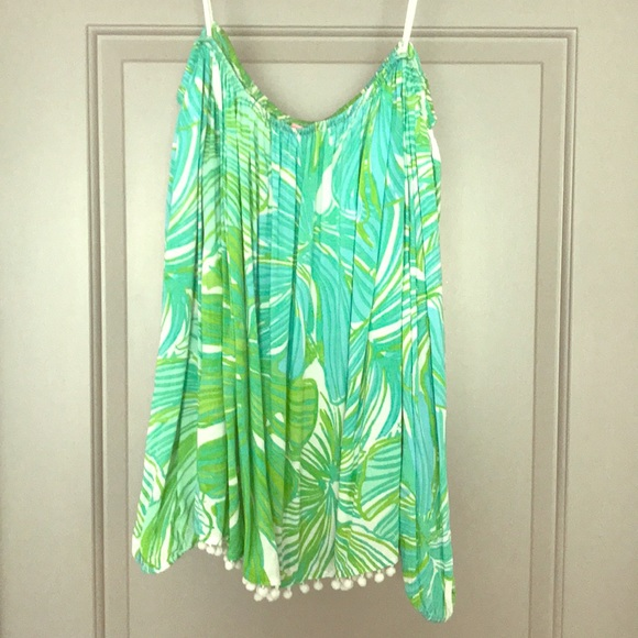 3086edea5d0949 Lilly Pulitzer Tops - GUC Lilly Pulitzer Enna Top Fronds Place