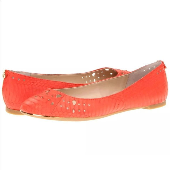 2abe257c631e3 Sam Edelman Leighton Cut Out Ballerina Flats 7.5M.  M 5a1c8ac413302aca690db861
