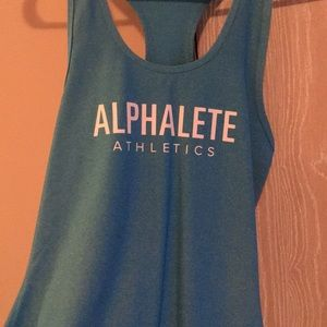 Alphalete Blue Tank - Worn once!