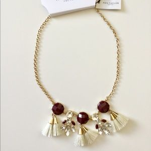 🆕 Ann Taylor Glam Necklace NWT
