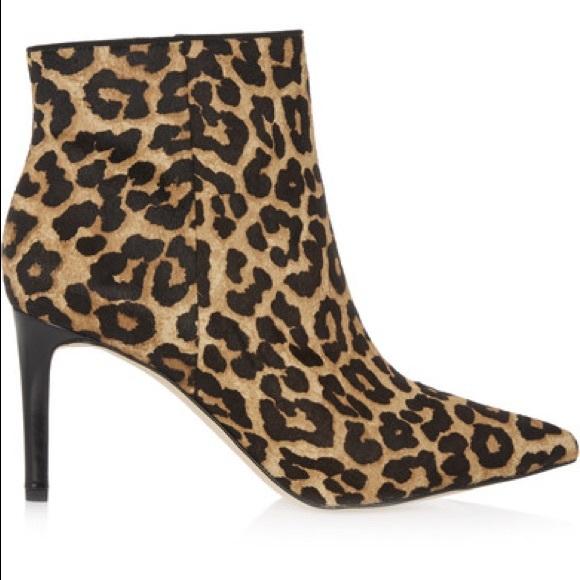 707aa43b234b Sam Edelman Karen leopard calf hair ankle boots