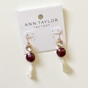 🆕 Ann Taylor Tassel Earrings NWT