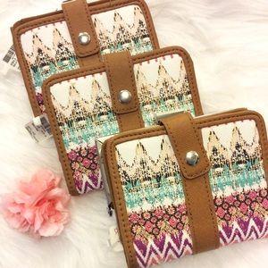 Handbags - ⭐️LAST ONE⭐️Multi-Pattern Boho Wallet
