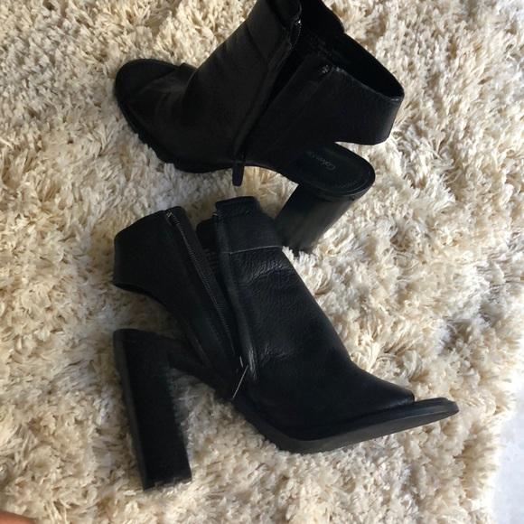 a2c53bd1eea8 Calvin Klein Shoes - Authentic Calvin Klein open toe heel open booties