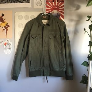 army green KOTO utility jacket