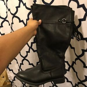 Lane Bryant tall boots.