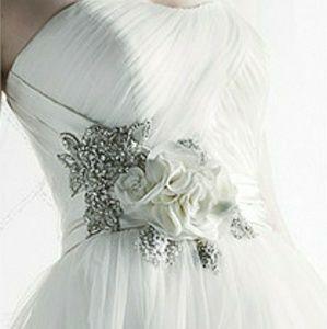 Oleg Cassini Dresses - Oleg Cassini Wedding Gown Plus Size