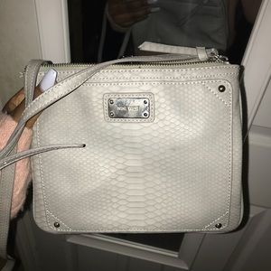 gray nine west crossbody