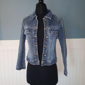 Silver Jeans Blue Jean Jacket