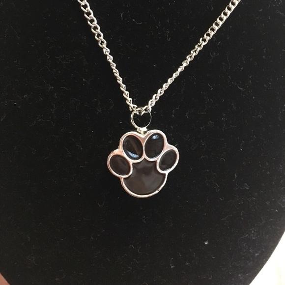 Jewelry pet urn pendant necklace paw poshmark pet urn pendant necklace paw aloadofball Images