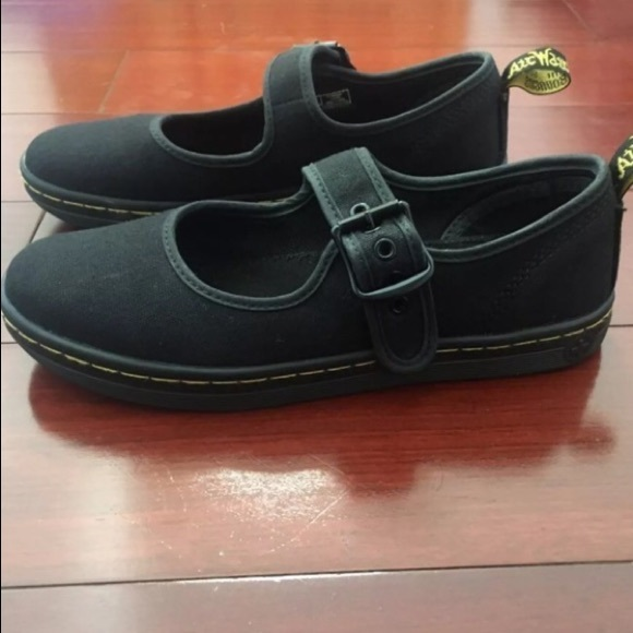 Rare grey Dr Martens Polley shoes size 7