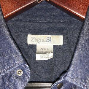 Dark Grey Ermenegildo Zegna Cotton Shirt