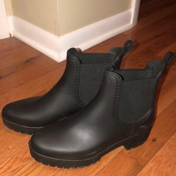 Jeffrey Campbell Women's Cloudy Chelsea Rain Boot dhgfwKl46O
