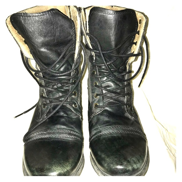 ccce4bf88a7 Steve Madden Men's Troopah Lace-Up Boot Sz 10
