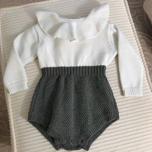 Other - NWT ruffle collar romper