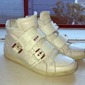 Shoes - Men's White Dsquared2 sneakers. Size 8.5 US EU: 42