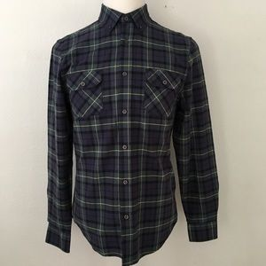 Five Four | Plaid Long Sleeve Dress Shirt