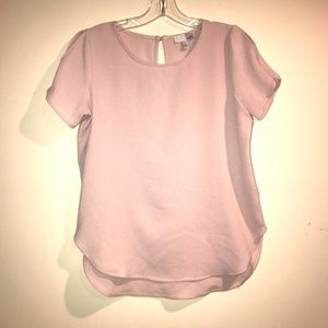 Pale Pink Womens Blouse