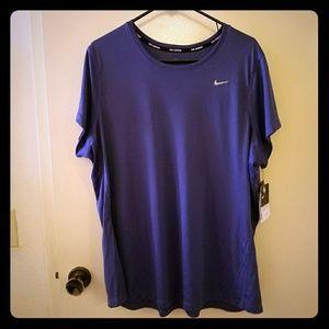 Nike 2x Miler Short Sleeve Tee - plus
