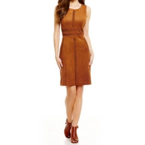 7e8b0e44405 ANTONIO MELANI Dresses   Skirts - 🎀 Antonio Melani Faux-Suede Dress