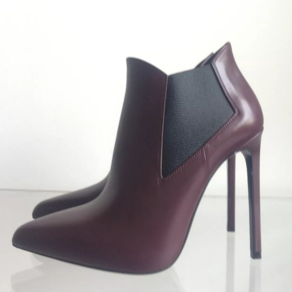8f744b4abc6 M_5a1cacf856b2d646af0e1503. Other Shoes you may like. YSL black leather  booties