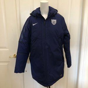 Nike Team USA Soccer Jacket Parka NWT XL