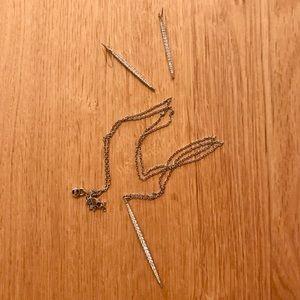 Michael Kors Necklace & Earring Set ✨