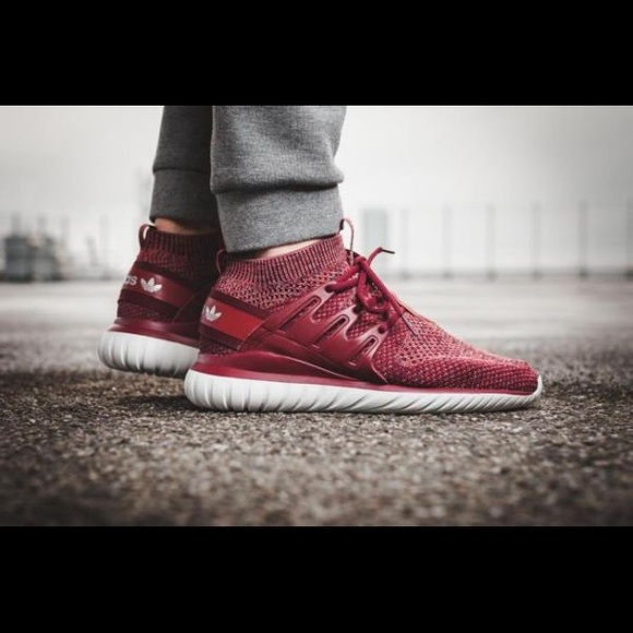 the latest 28812 81084 adidas Shoes | Tubular Nova Primeknit Color Mystery Red | Poshmark