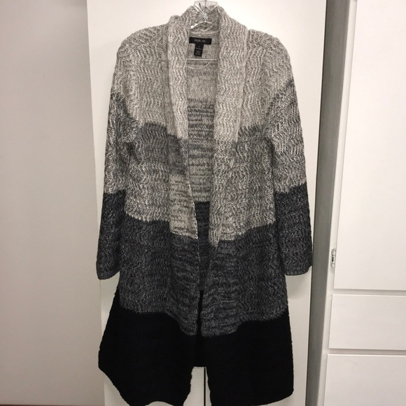 72% off Style & Co Sweaters - Style & Co Ombre Duster Cardigan ...