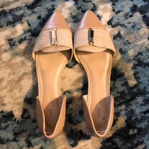 Sole Society pointed nude flats