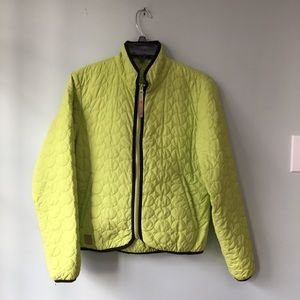 Sharp Quilted Green Jacket