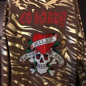 Authentic Ed Hardy Hoodie