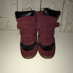 Women's Isabel marant wedge sneakers