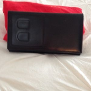 Bally Black Leather Wallet