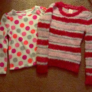 2 girls sweaters