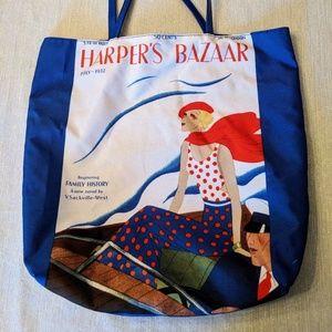 Estee Lauder tote bag with Harper's Bazaar art