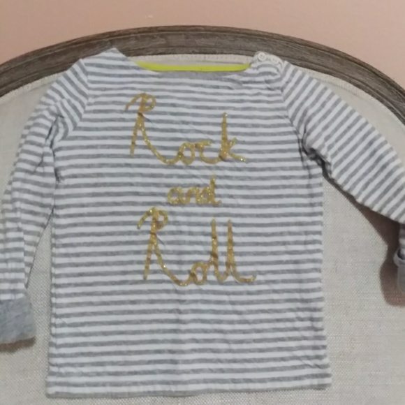 Mini Boden Shirts Tops Rock And Roll Shirt Poshmark