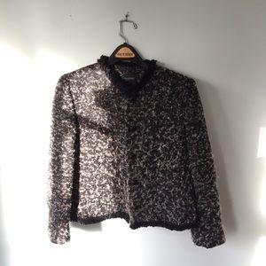 Jackets & Blazers - Button Up Plush Jacket