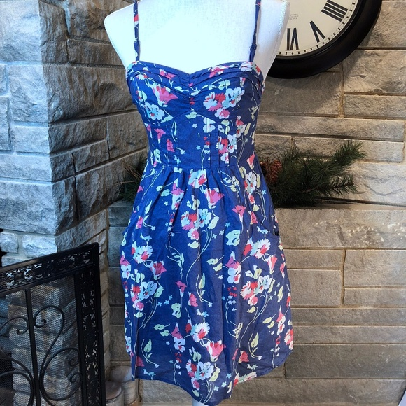 d111355135e American Eagle Outfitters Dresses | American Eagle Floral Dress W ...
