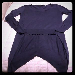 ASOS light weight high low sweater size 6